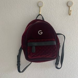 Brand New Red Velvet G by Guess Backpack